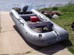 Лодка-Катамаран Братан 380К