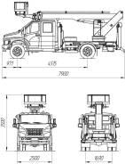 КамАЗ ПСС-131.22Э. ПСС-131.22Э на шасси ГАЗон Next (1-2 рядная кабина), 4 430куб. см., 22,00м. Под заказ