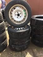"""1930 комплект зимней резины на штамповке 185/65/15 Dunlop. 6.0x15"""" 5x112.00 ET47 ЦО 58,1мм."""