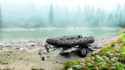 """Прицеп """"Водник """" для гидроцикла, лодки ПВХ"""