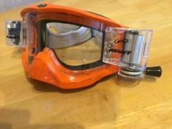 Маска очки Kenny Titanium G-max with speed film system Roll-Off orange