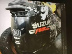 Лодочный мотор Suzuki DF 140 2005 нога Х отл состояние без пробега