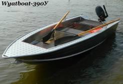 Новая алюминиевая моторная лодка Wyatboat 390У в наличии