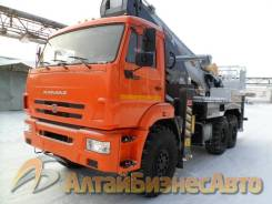 Novas. Продажа автовышки 460 на базе КамАЗ-43118 (6х6), 46 метров, 11 760куб. см., 46,00м.