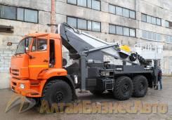 Novas. Продажа автовышки 350 на базе КамАЗ-43118 (6х6), 35 метров, 11 760куб. см., 35,00м.