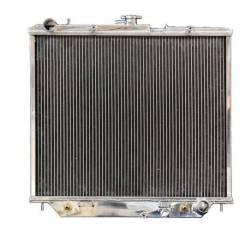 Радиатор алюминиевый Isuzu Bighorn/Trooper/Opel ДВС 4JX1-4JG2 40mm