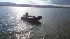 Лодка омега трёхместная с двигателем suzuki