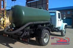 ГАЗ 3309. Вакуумная цистерна-ассенизатор 3,75м3 на шасси ГАЗ-33098 ЕВРО-5, 4 430куб. см.