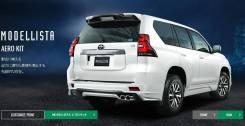 Губа, Modellista , Toyota Prado 2017-2018 оригинал Япония