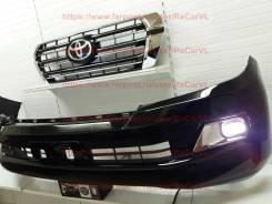 Комплект рестайлинга Toyota LAND Cruiser 200 бампер + решетка
