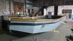 Лодка для рыбалки стальная. Катер для рыбалки. Рыболовный бот