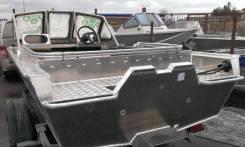 Алюминиевый Катер RusBoat-43 JET OPEN (Русбот), новый