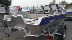 Алюминиевый Катер RusBoat-43 JET PRO OPEN (Русбот), новый