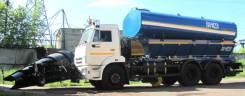 Коммаш КО-823-10. Дорожно-комбинированная машина КО-823-10 Камаз65115 (скоростной отвал), 6 700куб. см.
