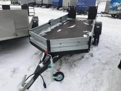 Легковой прицеп Alaska new 3.7х1.4 оцинк от ТеRRитории прицепов-Сурно