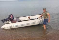 Продам лодку Barrakuda 3.65 м.