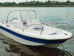 Катер пластиковый Wyatboat WB-430DCM (новый)