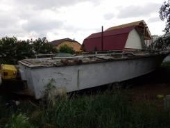 Корпус пограничного катера Аист