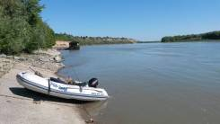 Продам резиновую лодку Solar 350, мотор Mercyry 15