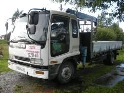 Продается грузовик с краном (манипулятор) Исузу Форвард.