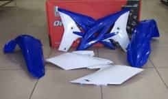 Комплект пластика R-Tech Yamaha WR450F 12-15 синий/белый (R-KITWRF-OEM-404)