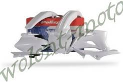 Комплект пластика Polisport Yamaha YZ250F/450F 06-09 Белый 90152
