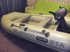 Продаю комплект -лодка, мотор 3л. с., спас. жилет 3шт., электронасос, колёса