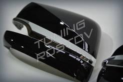 Корпуса зеркал черный, белый TRD Superior Lexus LX570/LX450d/GX460