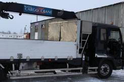 Бортовой грузовик с манипулятором ( воровайка ) Isuzu Forward, 2004