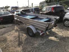 Лодка алюминиевая в комплекте с трейлером