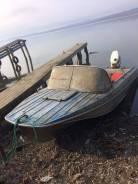 Продам лодку казанку 5м с мотором Yamaha 50 лс.