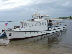 Прогулочное судно на базе Ярославца, модернизированное