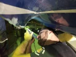 Корпусной ремонт пластиковых и алюминиевых лодок и катеров