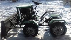 Трактор, мини-трактор, самодельная модель, 2017