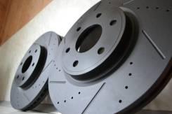 Перфорированные тормозные диски (комплект 4шт)