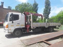 Грузоперевозки. Услуги грузовика с краном манипулятором HINO