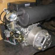 Бензиновый четырехтактный двухцилиндровый двигатель 640-680 куб. см.