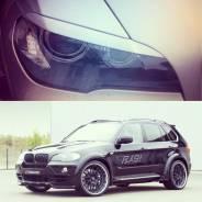 Накладка на фару. BMW X6, E71 BMW X5, E53, E70 Двигатели: M57D30T, M57D30TU2, N55B30, N57D30OL, N57D30TOP, N57S, N63B44, S63B44, M57D30TU, N63B44T3, S...
