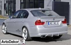 Накладки на пороги BMW 3 E90 (БМВ е90) 2005-2012г