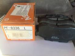 Колодки тормозные дисковые   перед   Nisshinbo PF8336