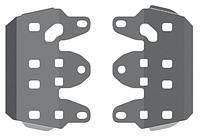 Защита порогов для квадроцикла YAMAHA GRIZLY 550/700 2007- (40.1551) (STORM)