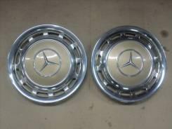 Колпаки колесные оригинальные Mercedes Benz R14 хром ( 2шт)