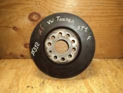 Диск тормозной передний Volkswagen Touran 1T