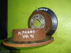 Диск тормозной. Toyota Alphard, MNH10, MNH10W 1MZFE