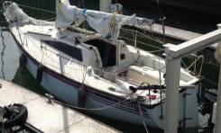 Яхта 7 метров с мотором 9.9 yamaha. Длина 7,00м., 1998 год