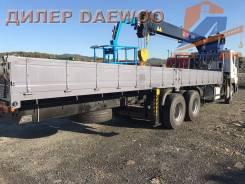 Daewoo Novus. 15,5 тонн HIAB 270 (2017год), 10 964куб. см., 6x4. Под заказ