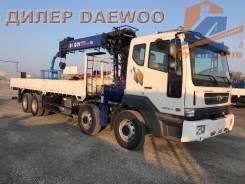 Daewoo Novus. 19.5 тонн с манипулятором DY2725 - 2017, 10 964куб. см., 8x4. Под заказ