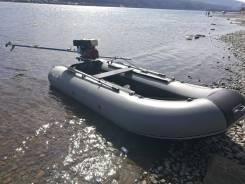Лодка моторная ПВХ Catmarine 400, байдарка, катабайд, катамаран.