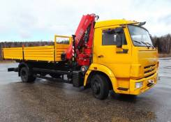 Fassi F110A active. КМУ Камаз 4308-3063-28 + КМУ Fassi F110A.0.22 + борт сталь 5.6м