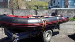 Продам лодку корсар 470 и мотор HDX50